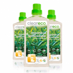 CLEANECO ORGANIKUS FELMOSZÓSZER GREEN TEA HERBAL ILLAT 1 l